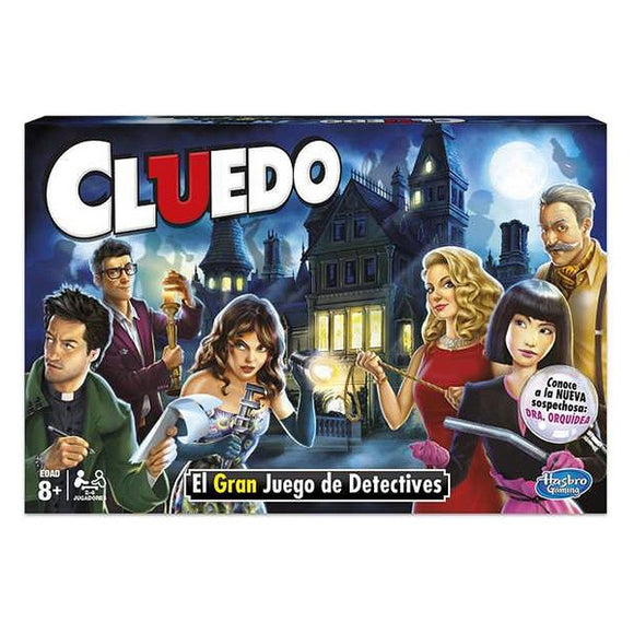 Board game Cluedo The Classic Mystery Hasbro (ES)