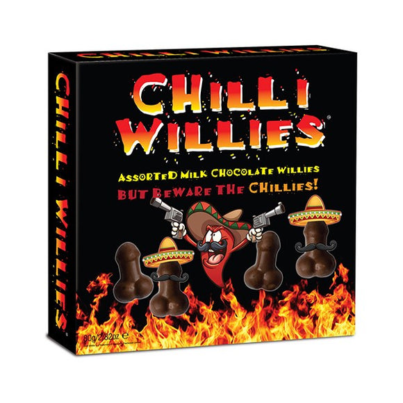 Erotic Chocolates Chille Willies Spencer & Fleetwood