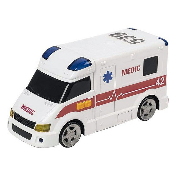 Ambulance with Light and Sound CYP Teamsterz 42 cm White