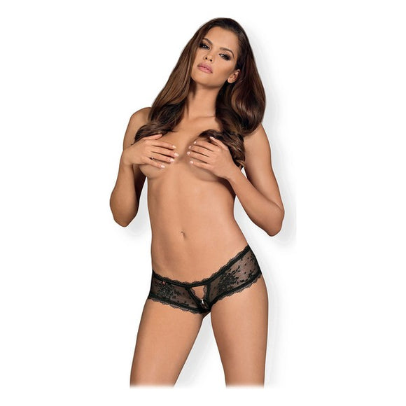 Lace Brief Behindy Obsessive Black