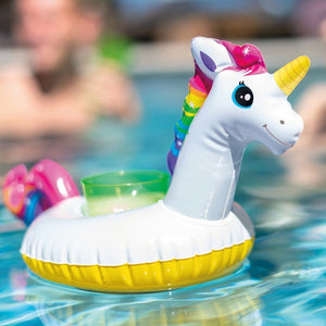 Floating drink holder Intex 3 pcs Unicorn (41 X 20 cm)