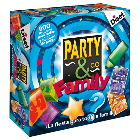 Board game Party & Co Family Diset (ES)