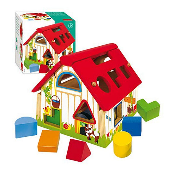 Building Game Farm Diset (12 pcs) (1+ year)