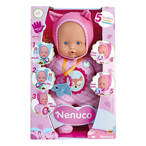 Baby Doll Nenuco Little Fox Famosa (30 cm) Pink