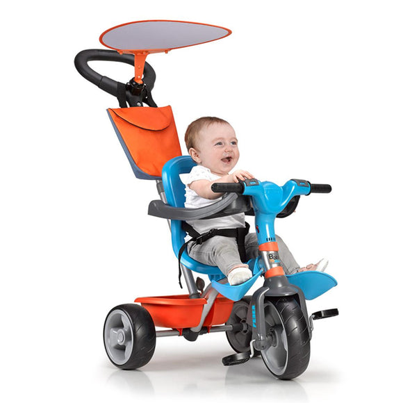 Tricycle Feber Baby Plus Music Blue Orange