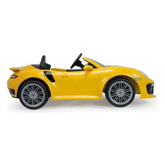 Children's Electric Car Porsche 911 Turbo Injusa Yellow