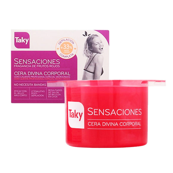Body Hair Removal Wax Sensaciones Taky (400 g)