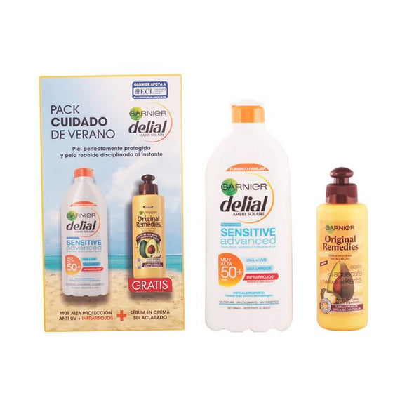 Sun Protection Set Sensitive Delial SPF 50+ (2 pcs)