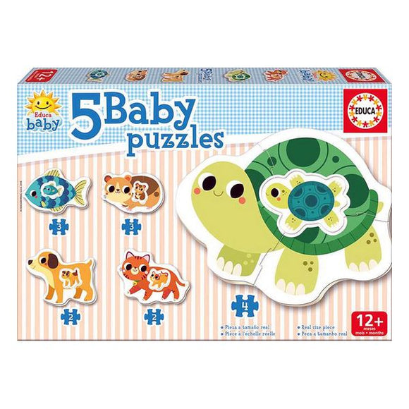 Animals Puzzle Baby Educa