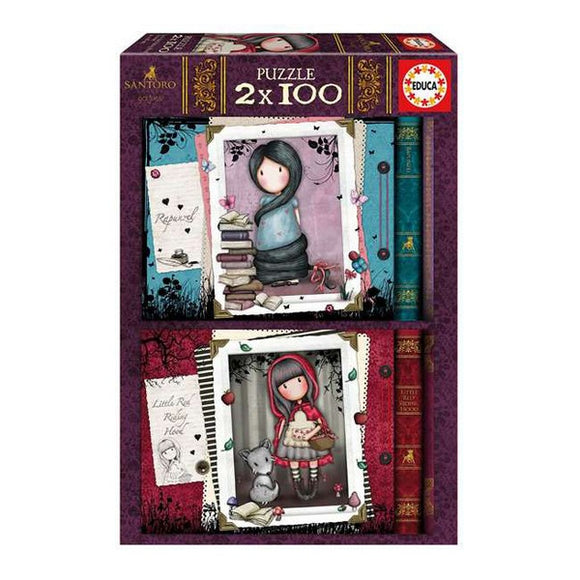 Puzzle Gorjuss Educa (100 pcs)