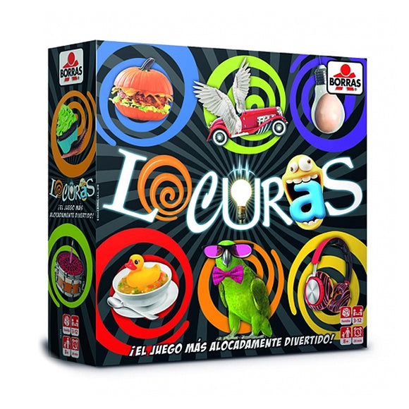 Board game Locuras Educa (ES)