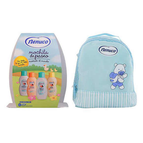 Set Bath for Babies Nenuco 19409 (4 pcs) Blue
