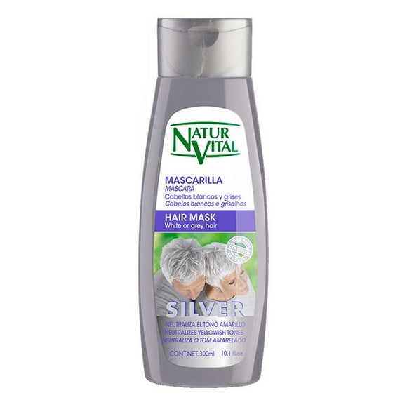 Mask for Grey Hair Naturaleza y Vida (300 ml)