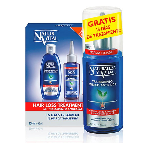 Anti-Hair Loss Treatment Naturaleza y Vida (2 pcs)