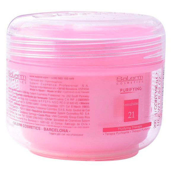 Nourishing Hair Mask Purifying Salerm (200 ml)