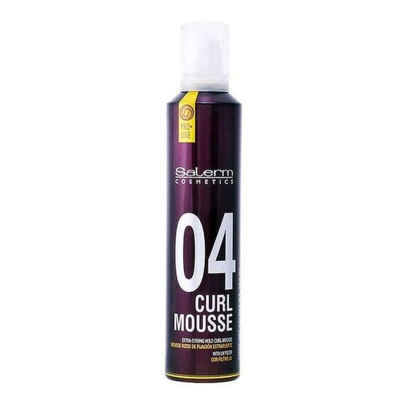 Extrastrong Top Gel Curl Mousse Salerm