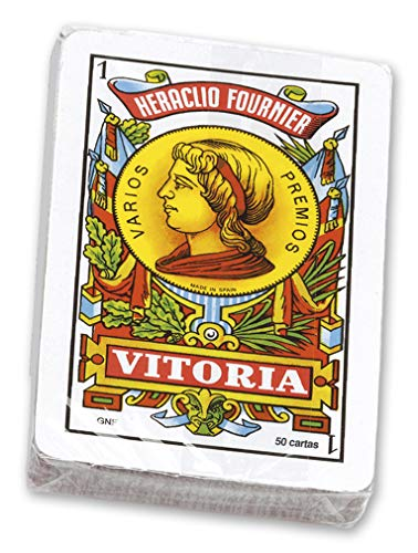 Pack of Spanish Playing Cards (50 Cards) Fournier Nº 12