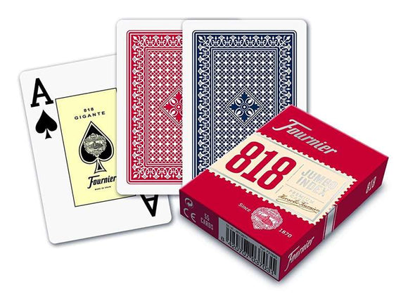 Pack of Poker Playing Cards (55 cards) Fournier Nº 818