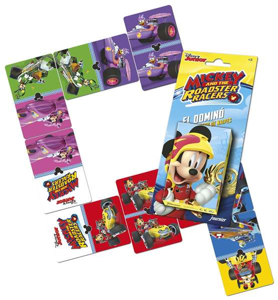 Card Game Mickey And The Roadsters Fournier (ES) Domino