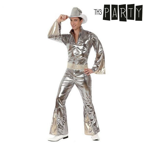 Costume for Adults Disco Silver