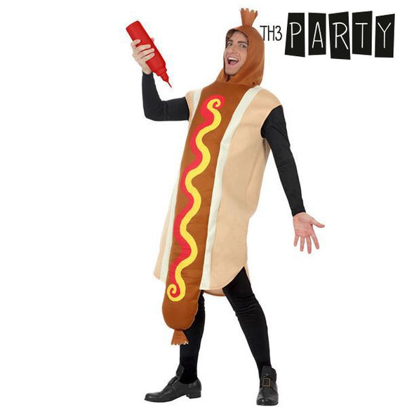 Costume for Adults Th3 Party 5343 Hot dog