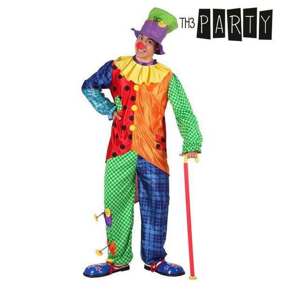Costume for Adults Th3 Party 9449 Male clown