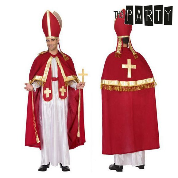 Costume for Adults Th3 Party Pope (4 Pcs)
