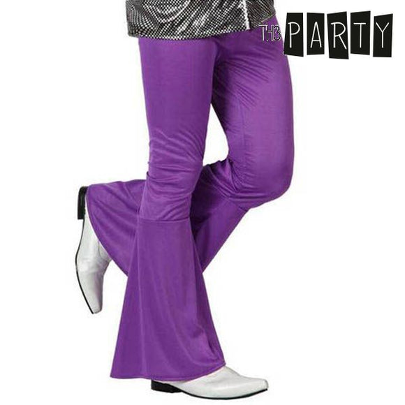 Adult Trousers Disco Purple