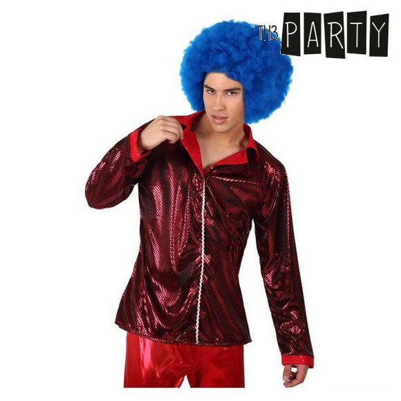 Adult-sized Jacket Th3 Party Disco Shine Red