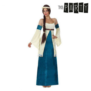 Costume for Adults Medieval lady (2 Pcs)