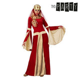 Costume for Adults Medieval lady Red