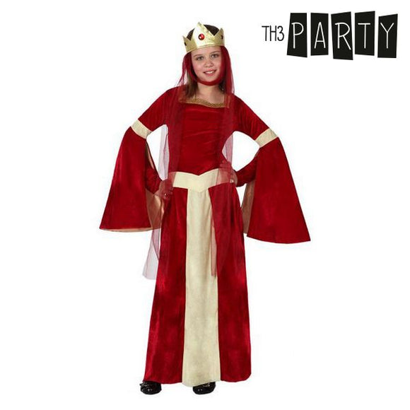 Costume for Children Medieval lady Red
