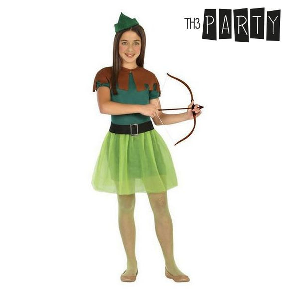 Costume for Children Female archer (4 Pcs)