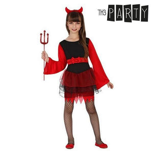 Costume for Children Female demon (2 Pcs)