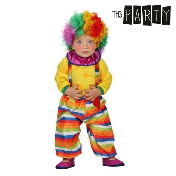 Costume for Babies Male clown (3 Pcs)