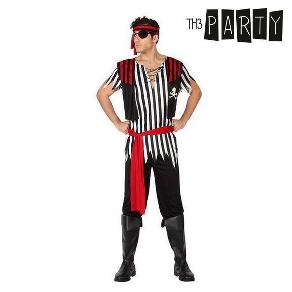 Costume for Adults Male pirate (5 Pcs)