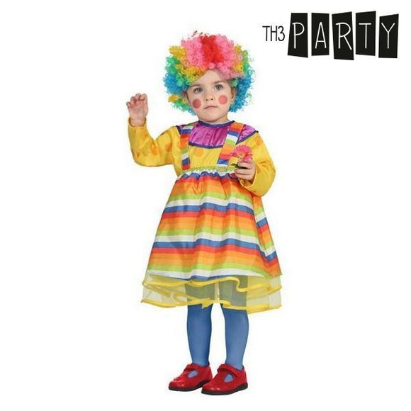 Costume for Babies Female clown (3 Pcs)