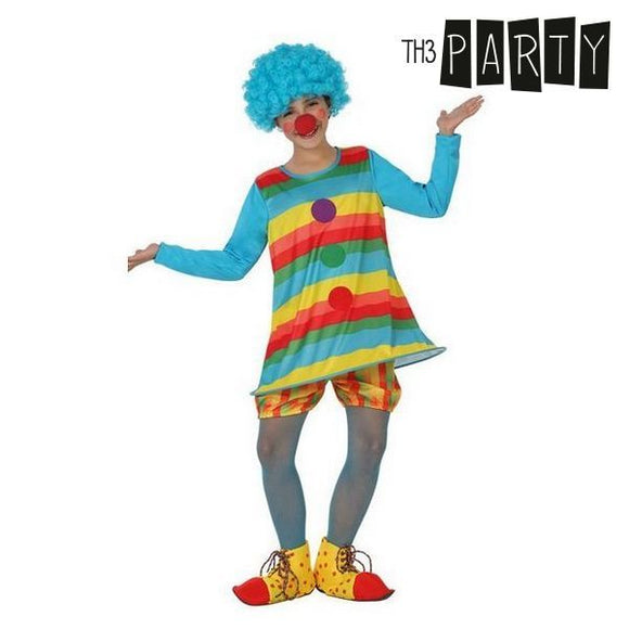 Costume for Children Female clown (2 Pcs)