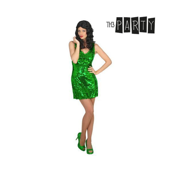 Costume for Adults Disco Green