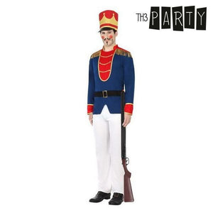 Costume for Adults Soldier (4 Pcs)