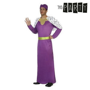 Costume for Adults Wizard king balthasar (4 Pcs)