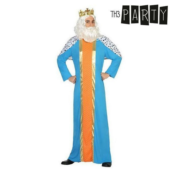 Costume for Adults Wizard king melchior (2 Pcs)
