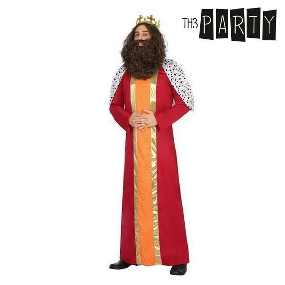 Costume for Adults Wizard king gaspar (2 Pcs)
