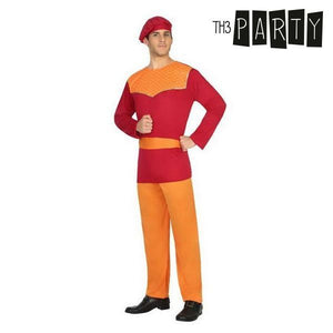 Costume for Adults Haystack Red (4 Pcs)