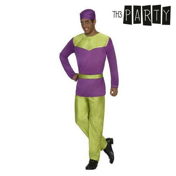 Costume for Adults Haystack Purple (4 Pcs)
