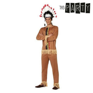 Costume for Adults Indian man (2 Pcs)