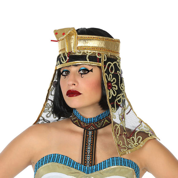 Hat Egyptian woman Golden 119461