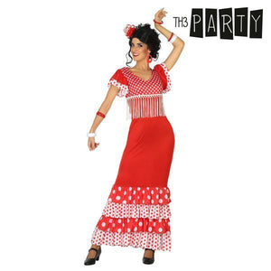 Costume for Adults Flamenco dancer Red