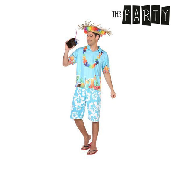 Costume for Adults Hawaiian man