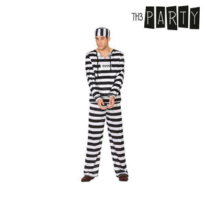 Costume for Adults Male prisoner